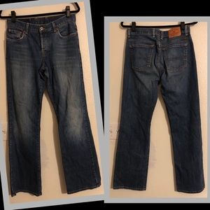 Lucky Brand Dungaree Rider Fit Jeans Size 6